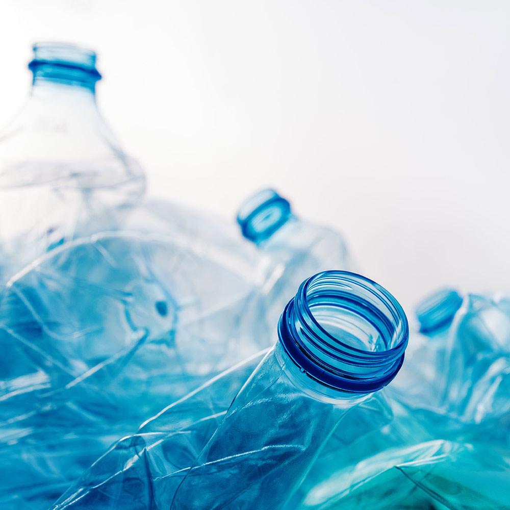 PET Flaschen Recycling
