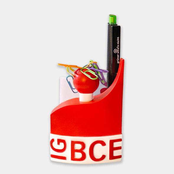 Sonderanfertigung IGBCE Schreibtischhelfer 2