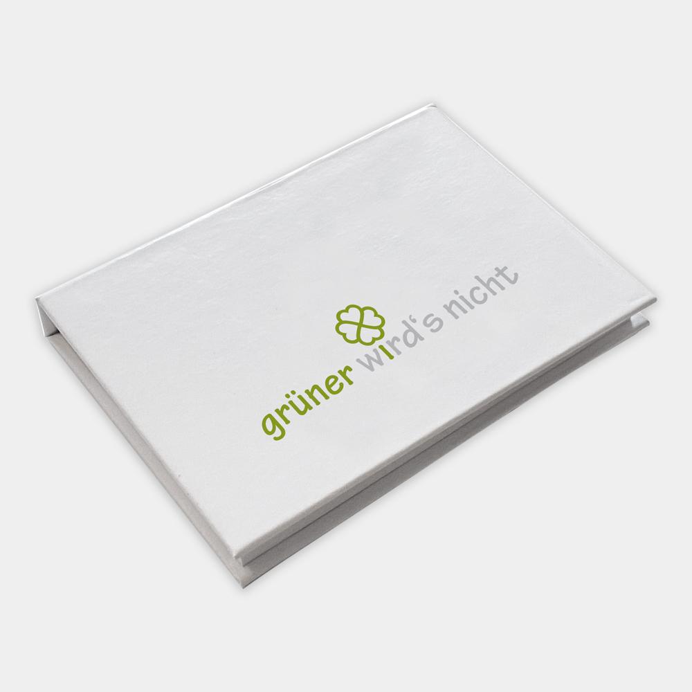 Haftnotizset 3in1 aus recyceltem Papier - gwn-035