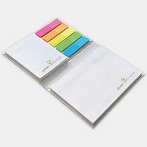 Haftnotizset 3in1 aus recyceltem Papier - gwn-035_offen