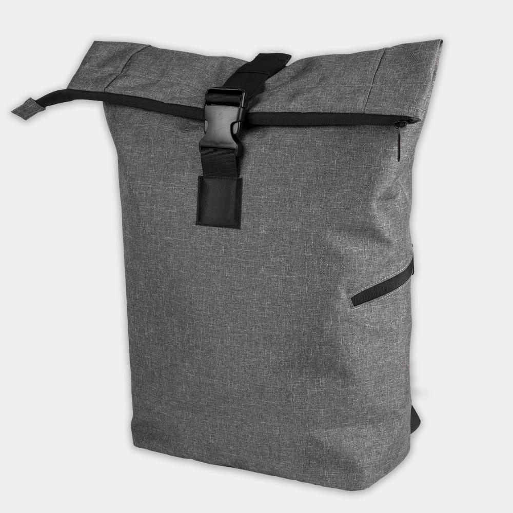 Roll-Top-Rucksack Messengerbag aus recycelten PET-Flaschen - gwn-084