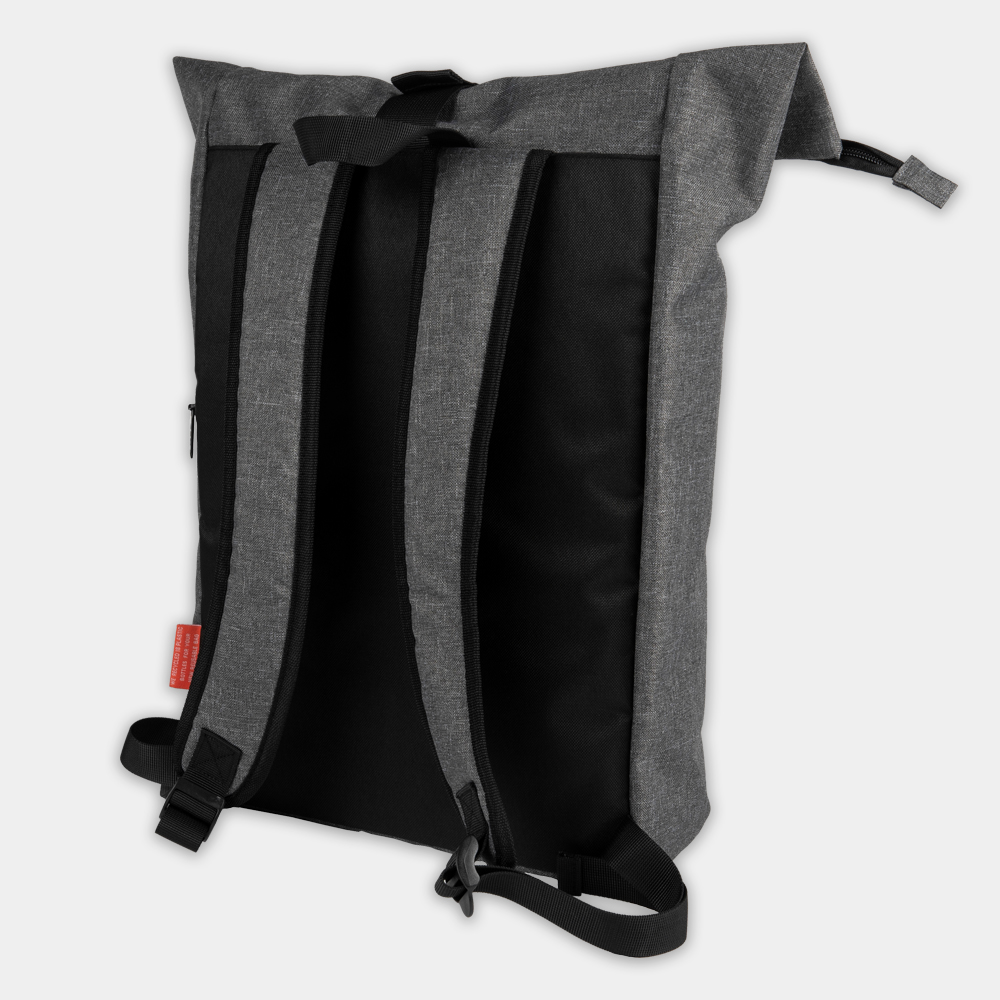 Roll-Top-Rucksack Messengerbag aus recycelten PET-Flaschen - gwn-084 - 2