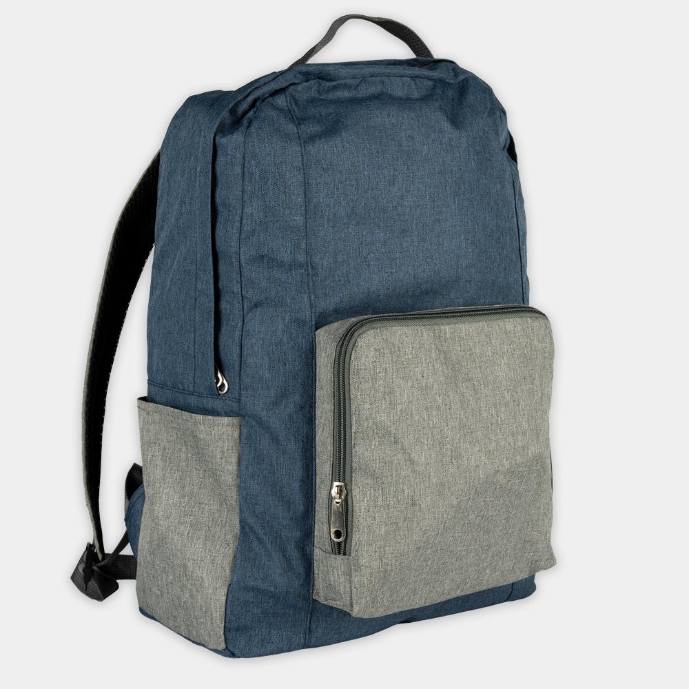 Rucksack recpack aus recycelten PET-Flaschen - gwn-085 blau