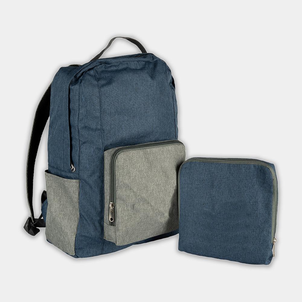Rucksack recpack aus recycelten PET-Flaschen - gwn-085 kombi