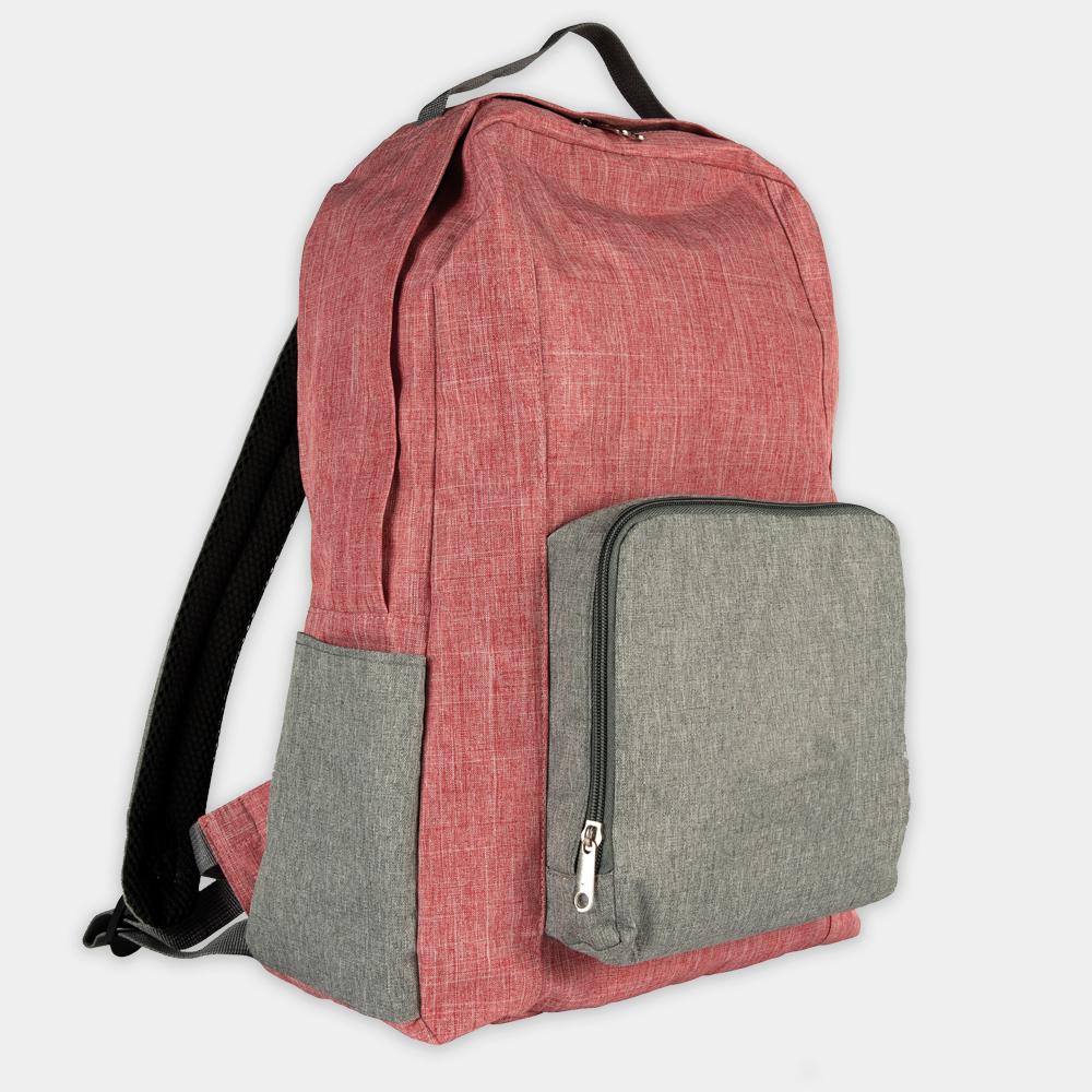 Rucksack recpack aus recycelten PET-Flaschen - gwn-085 rot