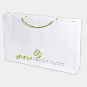 Tragetasche carry aus recyceltem Papier - gwn-100