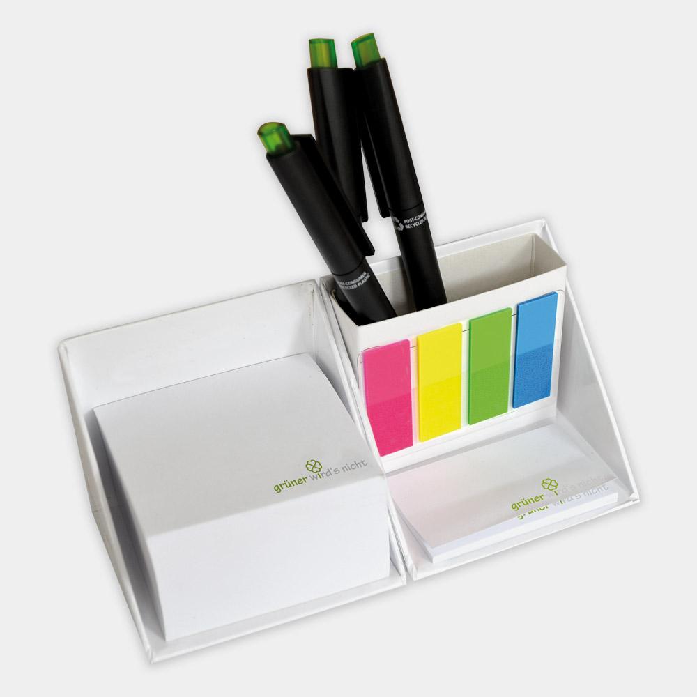 Schreibtischhelfer descube aus recycelter Pappe - gwn-105
