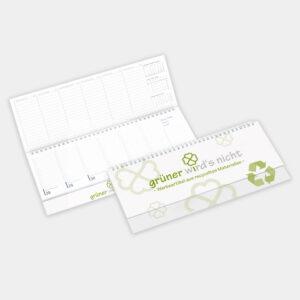 Tischquerkalender desktiming aus recyceltem Papier - gwn-130