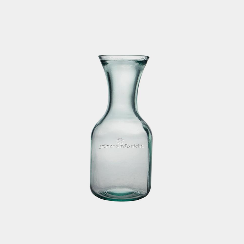 Glaskaraffe cheers aus recyceltem Glas - gwn-205