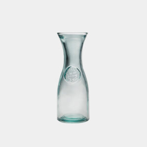 Glaskaraffe circlebottle aus recyceltem Glas - gwn-240